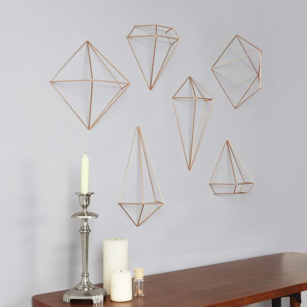 Umbra 3D Wanddeko Prisma Wall Decor 3er Set