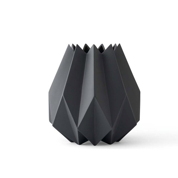 Menu Vase Folded Carbon
