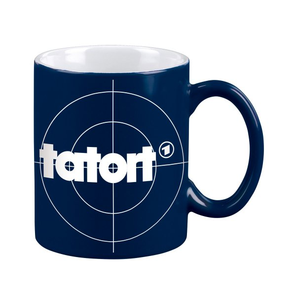 moses verlag tatort tasse blau online kaufen design3000. Black Bedroom Furniture Sets. Home Design Ideas