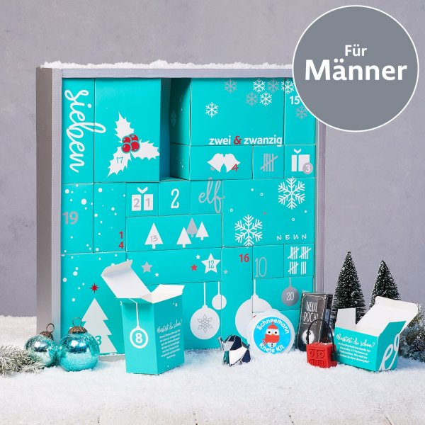 adventskalender f r m nner 2018 online kaufen online shop. Black Bedroom Furniture Sets. Home Design Ideas