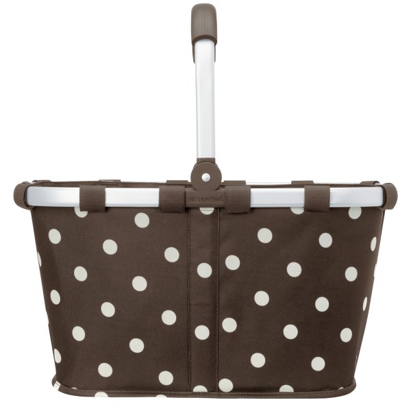 Carrybag mocha dots