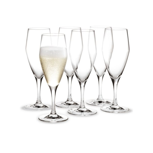 Holmegaard Champagnerglas Perfection 6er Set