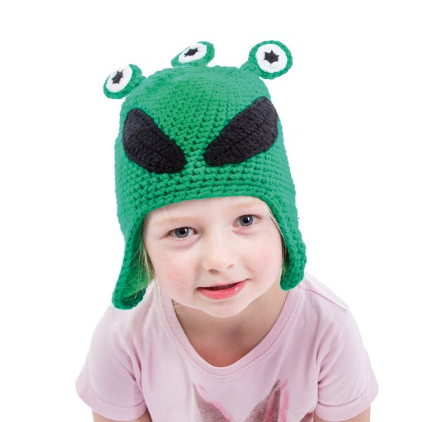 Donkey Products Kindermütze Woolie Alien