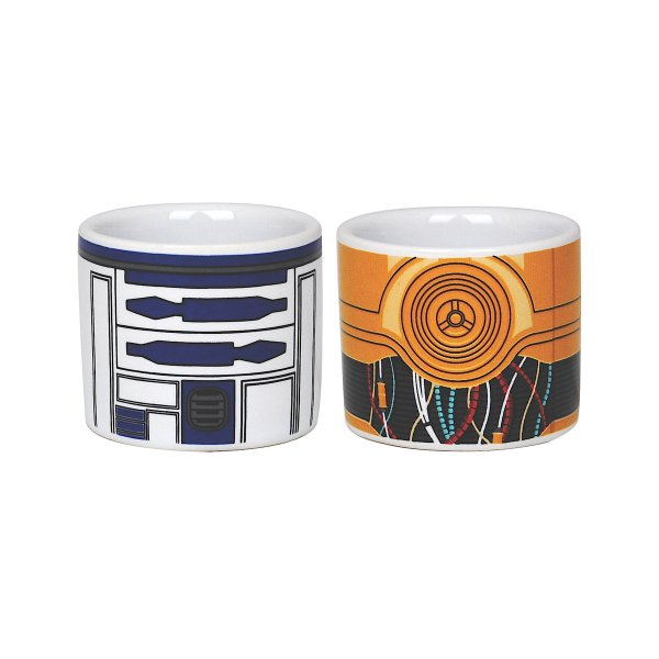 Eierbecher Star Wars R2D2 & C3PO 2er-Set