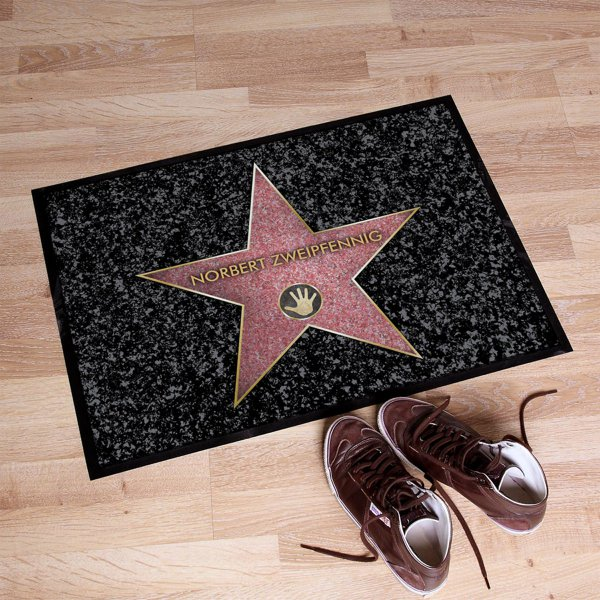 Personalisierbare fu matte walk of fame online kaufen for Design 3000 de