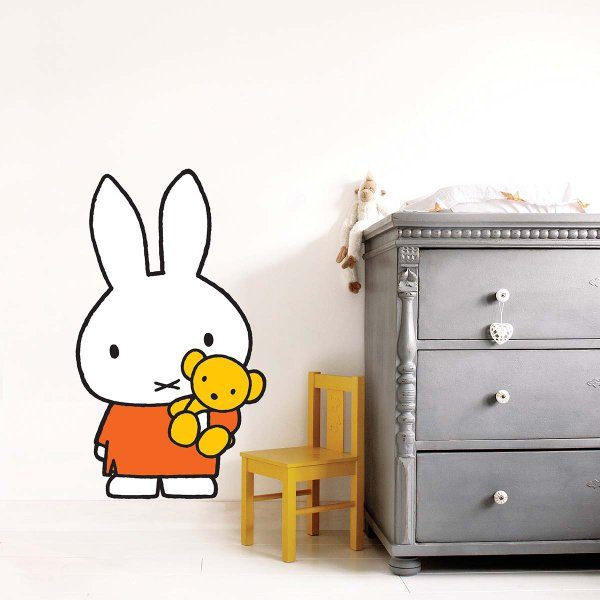 KEK Amsterdam Miffy Wandtattoo Miffy XL