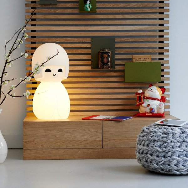 Mr maria kokeshi lampe for Design 3000 de