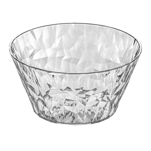 Koziol Portionsschale Crystal 2.0 transparent klar