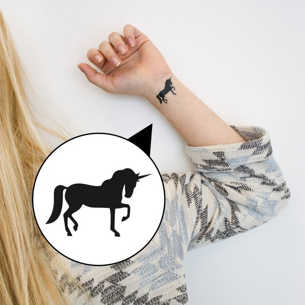 loopdsgn Tattoo Einhorn