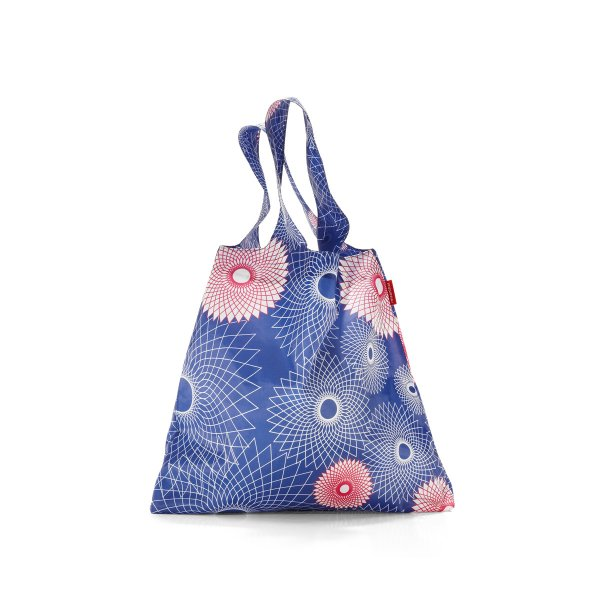 Mini Maxi Shopper crystals ocean blue