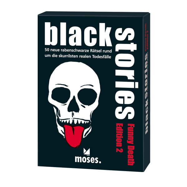 moses. Verlag black stories - Funny Death Edition 2