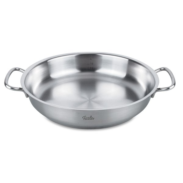 Fissler original-profi collection Edelstahl Brat- & Servierpfanne