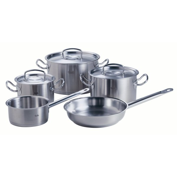Fissler original-profi collection Topf-Set 5-tlg. m. Pfanne, Stielkasserolle