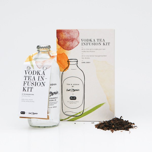 Our/Berlin Vodka Earl Grey Tea Infusion Kit