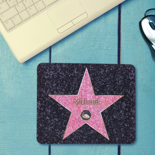 Personalisierbares Mousepad Walk of Fame