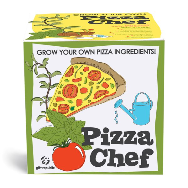 Pflanz-Set Pizza Chef