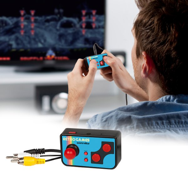 Thumbs Up Mini TV Games - inkl. 200 Retro-Spiele
