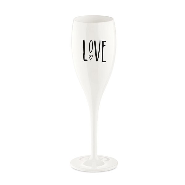Koziol Sektglas Cheers Love