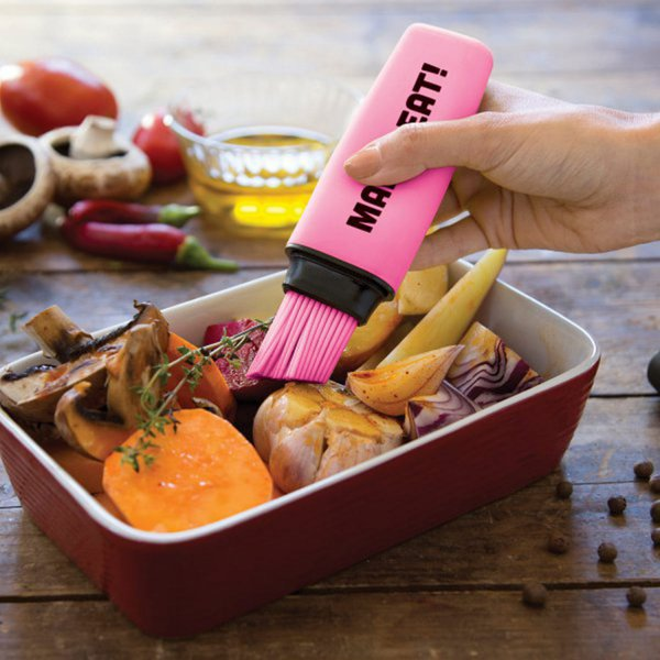 OTOTO Design Silikonpinsel Mark-Eat! - pink