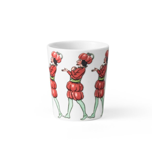 Design House Stockholm Elsa Beskow Becher Tomate