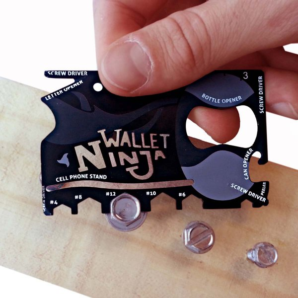Thumbs Up Wallet Ninja 18-in-1 Multi-Tool