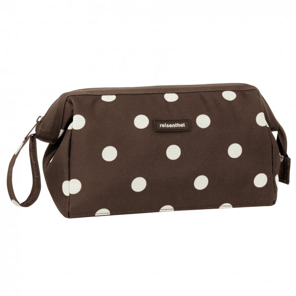 Travelcosmetic mocha dots
