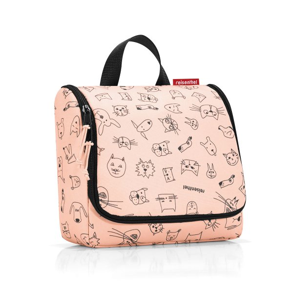 reisenthel Kulturtasche Cats and Dogs rosa