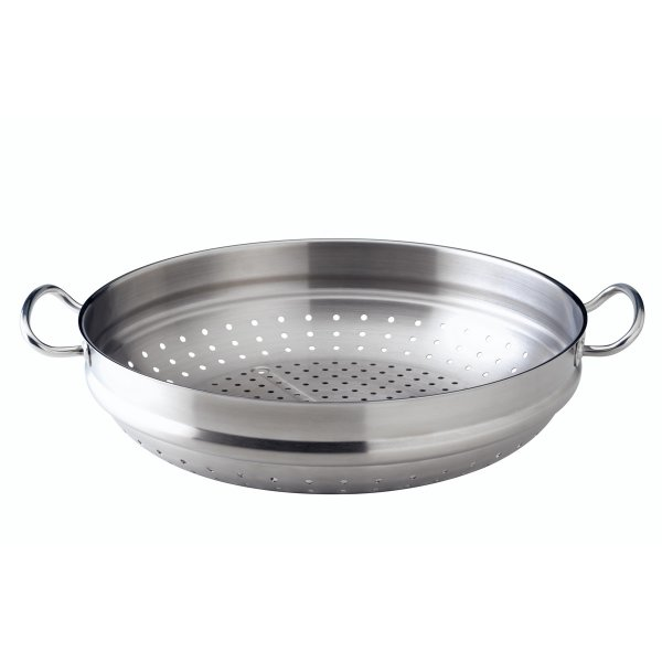 Fissler original-profi collection Wok-Dämpfeinsatz, satiniert 35cm