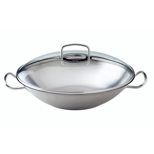 fissler original profi collection wok mit glasdeckel 35cm online kaufen online shop. Black Bedroom Furniture Sets. Home Design Ideas