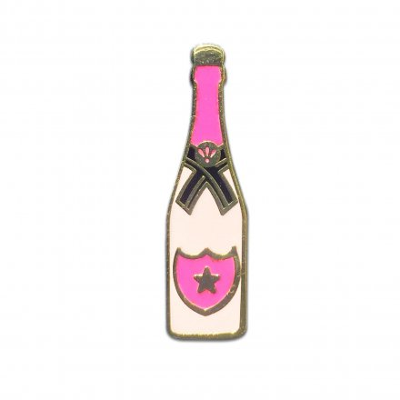Ansteck-Pin Champagner