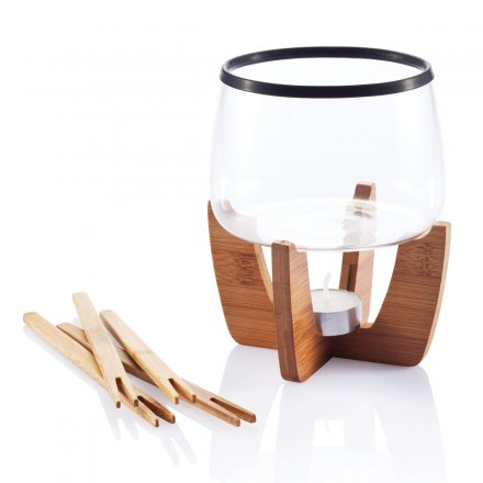 xd design schokoladen fondue set cocoa online kaufen online shop. Black Bedroom Furniture Sets. Home Design Ideas