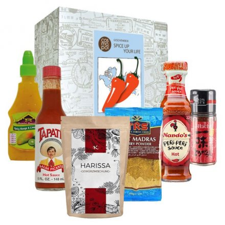 Geschenkbox Spice Up Your Life