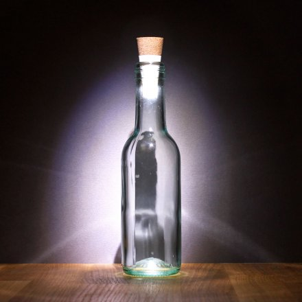 Suck UK LED-Flaschenlicht Skylight-Bottle