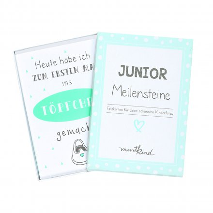 mintkind Meilensteinkarten Junior mint