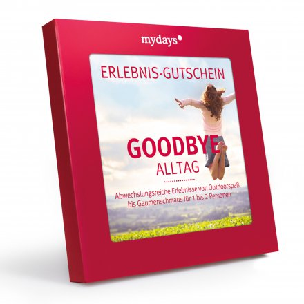 mydays Magic Box: Goodbye Alltag