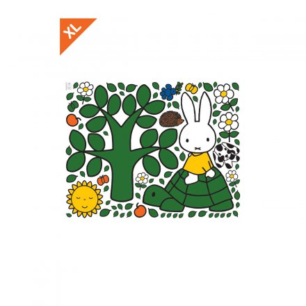 KEK Amsterdam Miffy Wandtattoo Turtle XL