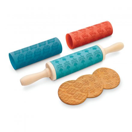 Nudelholz The Message Rolling Pin