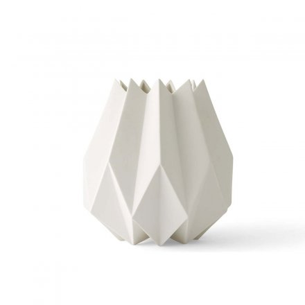 Menu Vase Folded White