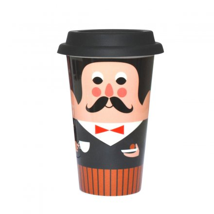 OMM Design Becher To Go Gentleman