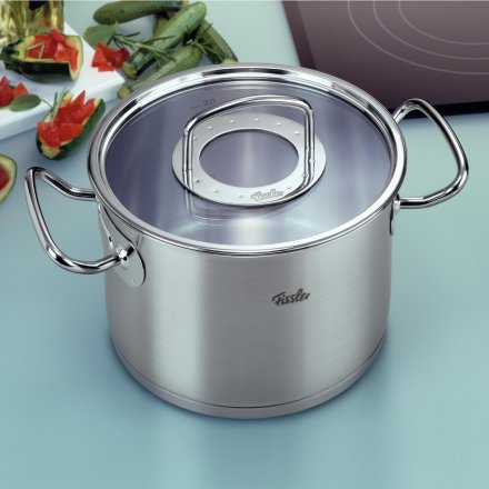 Fissler original-profi collection Kochtopf 20 cm m. Glasdeckel
