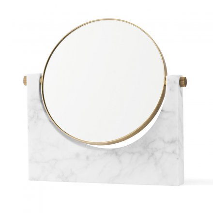 Menu Kosmetikspiegel Pepe Marble Mirror brass, white