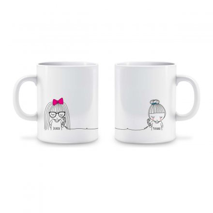 Personello Exklusive Personalisierbare Tasse - Long Distance links