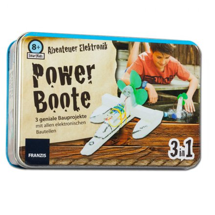 Franzis Bauset Smartkids: Powerboote