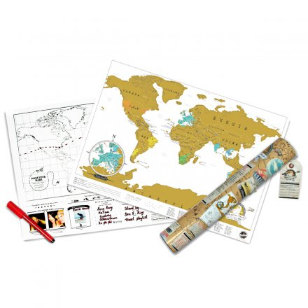 Weltkarte Scratch Map Travel Edition