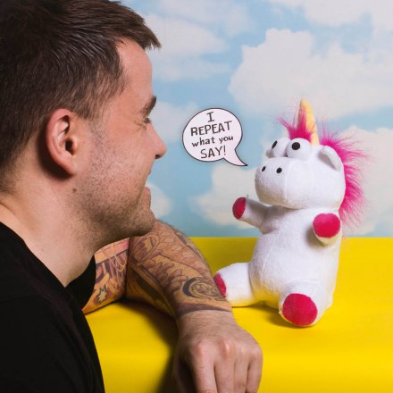 Thumbs Up Sprechendes Einhorn Talk Back Unicorn