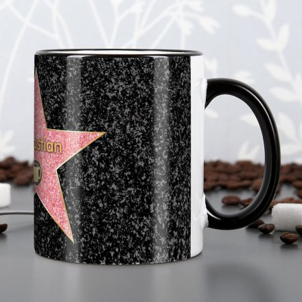 personalisierbare tasse walk of fame online kaufen online shop. Black Bedroom Furniture Sets. Home Design Ideas