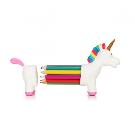 Buntstift-Set Regenbogen Einhorn