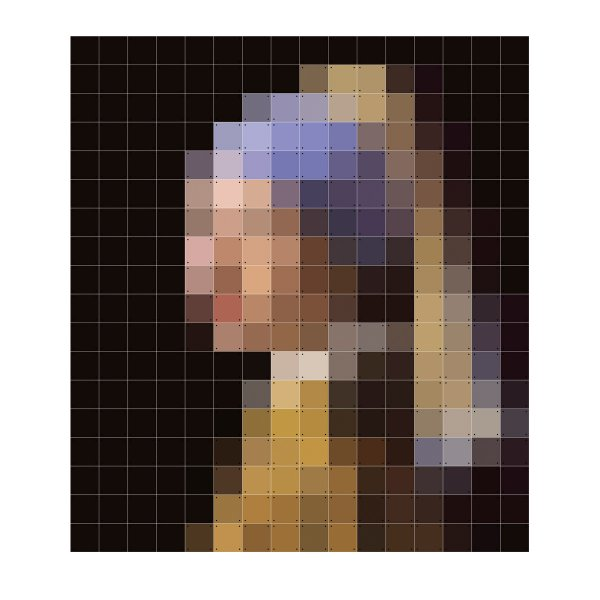 Ixxi wanddekoration girl with a pearl earring for Design 3000 de