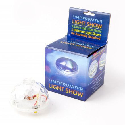 United Entertainment Wasser-Lichtshow Globus