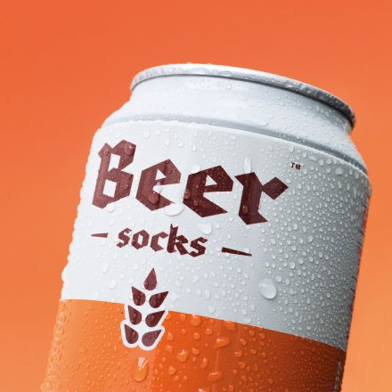Luckies of London Geschenk-Set Biersocken Ale